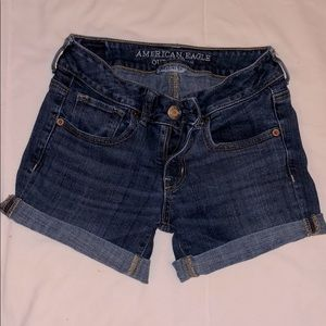American Eagle Outfitters Sz 0 Superstretch shorts